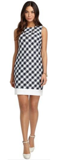 Brooks Brothers Gingham Shift Dress