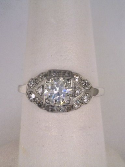 Joint Venture Estate Jewelers Diamond Ring