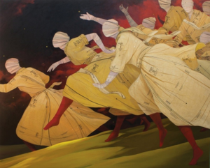 The Fireflies, 2014, by John Westmark