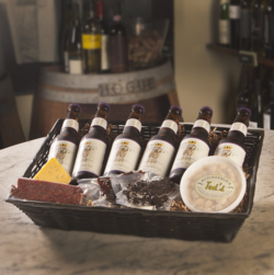 Ted's Butcherblock Craft Beer Basket