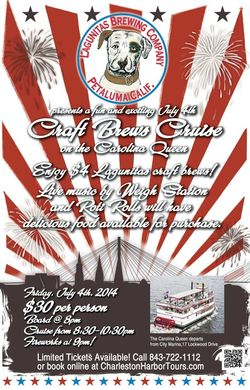 Charleston Harbor Tours 4th of July Craft Brews Cruise2