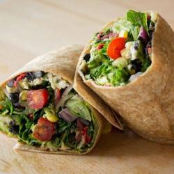 Verde Salad Wrap