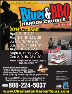 Charleston Harbor Tours Blues & BBQ Cruises