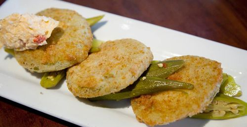 Fried Green Tomatoes at Amen Street