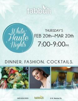 White Haute Nights Tabbuli