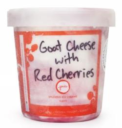Goat  Cheese Cherries Jenis Splendid Ice Cream