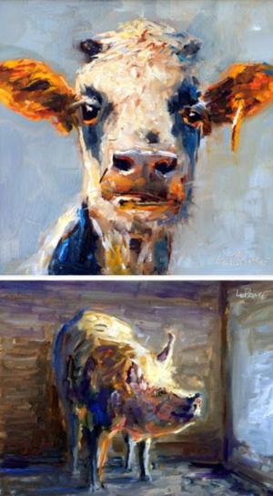 Kevin LePrince Farm Paintings