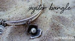 Alex and Ani Oyster Bangle