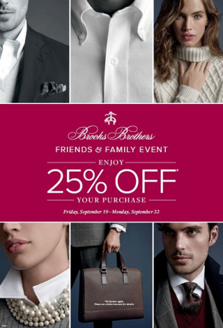 Brooks Brothers Family Event