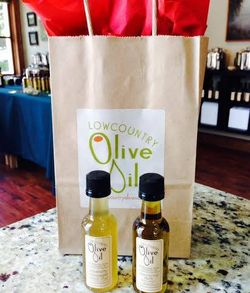 Lowcountry Olive Oil Mini Bottles