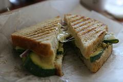 Persimmon Cafe Zucchini Melt