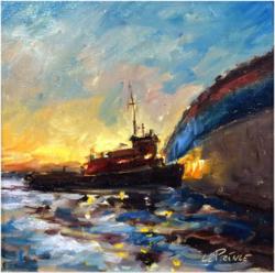 Tug Boat Study Kevin LePrince