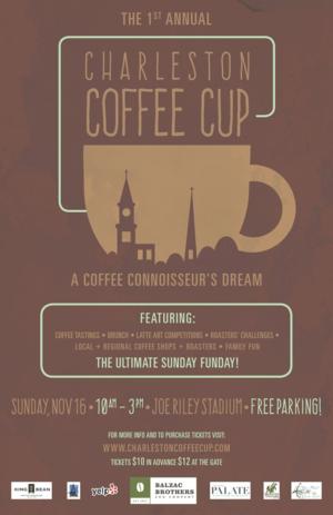 1st Annual Charleston Coffee Cup