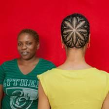 My Hair Craft Project (Jamiilah) by Sonya Clark
