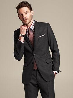 Banana Republic Modern Slim Fit Suit