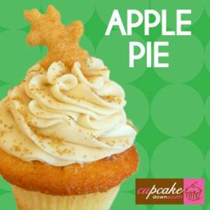 Apple Pie Cupcake Downsouth