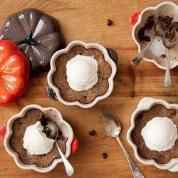 Pumpkin Cocotte Le Creuset
