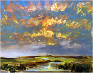 Kevin LePrince Billowing Clouds