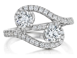 A.Link You and Me Diamond Ring