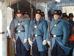 Holiday at Fort Sumter