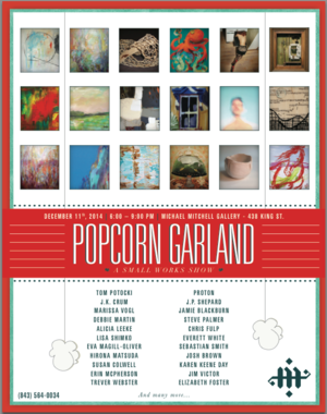 Popcorn Garland Michael Mitchell Gallery