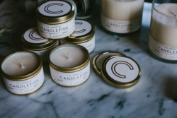 Candlefish tins