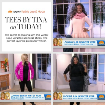 Tees By Tina on the Today Show