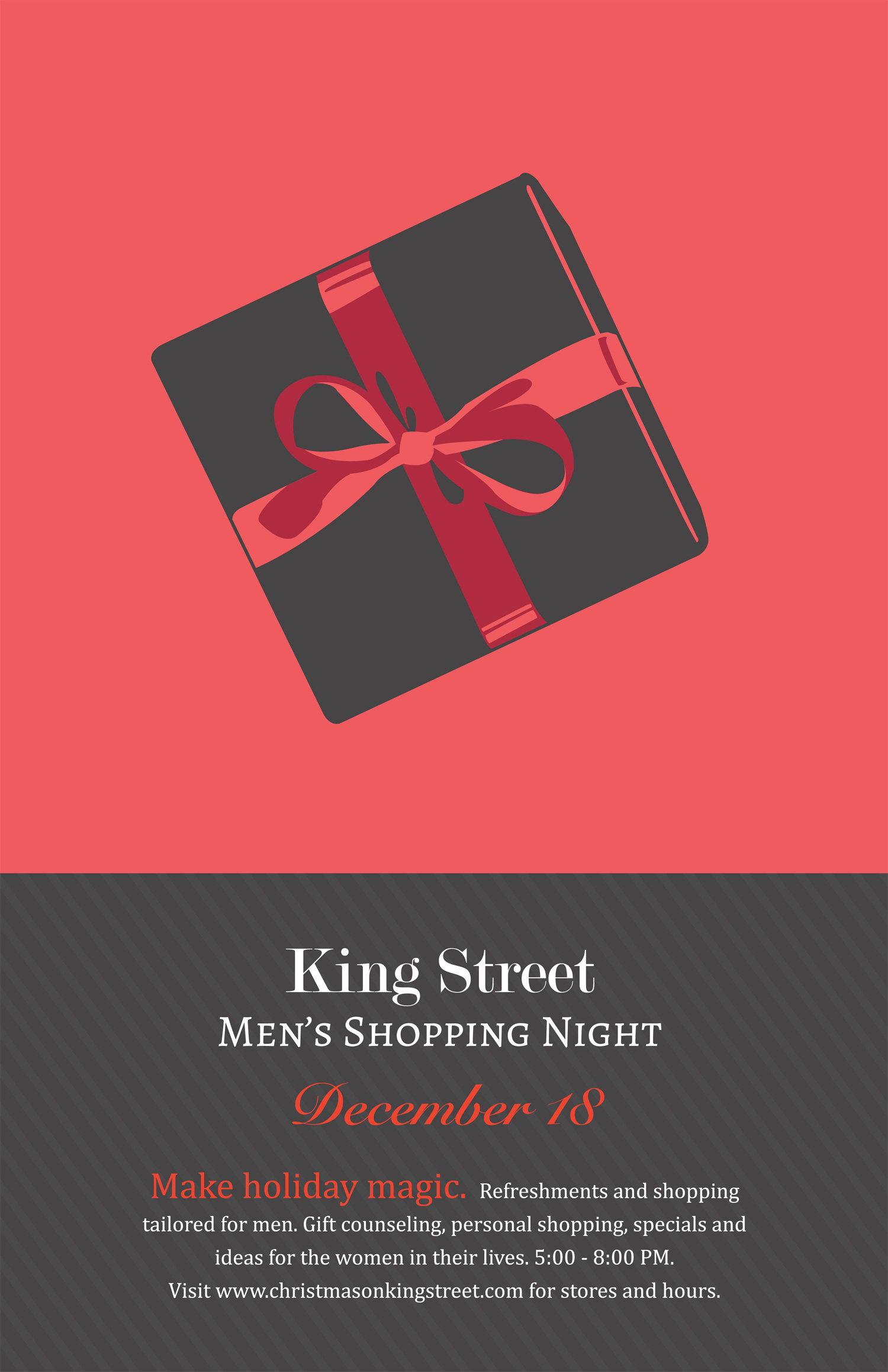 Christmas on king street clothing mens shopping night this thursday on king street 1betcityfo Gallery
