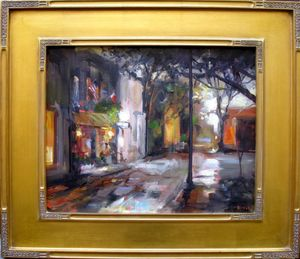 Fog on Fulton Street II by Rick Reinert