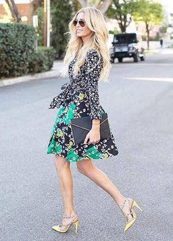 Finicky Filly DVF dress