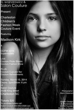 Charleston Children's Fashion Week Couture Event