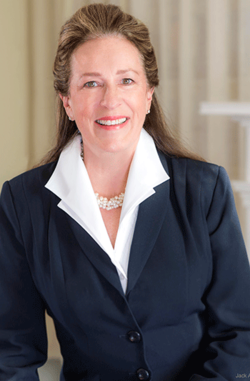 Elizabeth Colbert-Busch, Director of Business Development for the $100 million Clemson University Restoration Institute (CURI) in North Charleston.