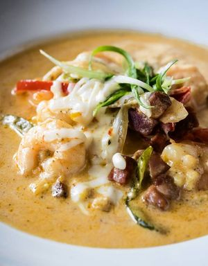 Swamp fox Restaurant Shrimp & Grits