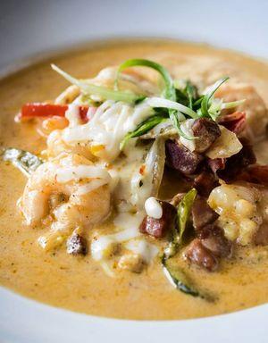 Swamp fox Restaurant Shrimp & Grits