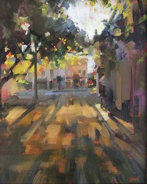 Morning on Fulton by Rick Reinert