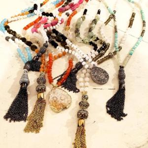 Oscar Daniel necklaces