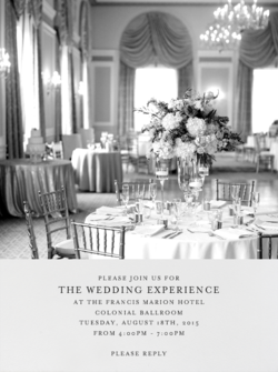 Francis Marion Wedding Experience