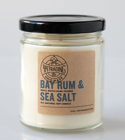 Bay Rum and Sea Salt Candle