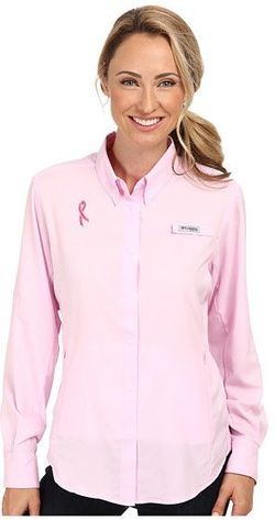 Columbia Breast Cancer Shirt