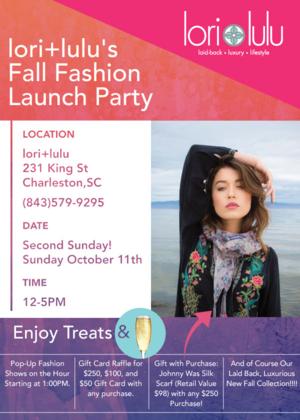 Lori+lulu Fall Fashion Party