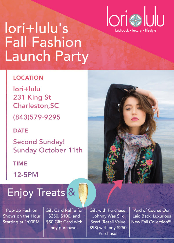 bf3f80d5b61 Enjoy Fashion Shows and More at lori+lulu s Fall Fashion Launch Party