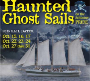 Charleston Harbor Tours Haunted Ghost Sails
