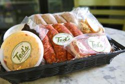 Ted's Butcherblock Gift Basket