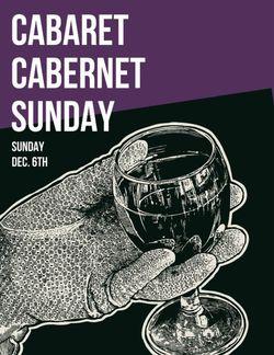 Cabaret Cabernet Sunday