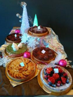 Cafe Framboise Tarts