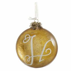 HandPicked Initial Ornament