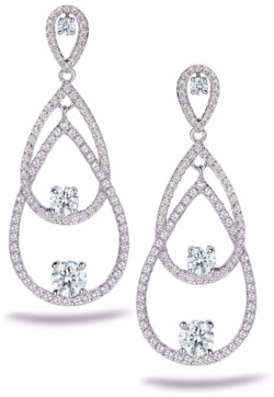 Embrace Earrrings A. Link for Forevermark