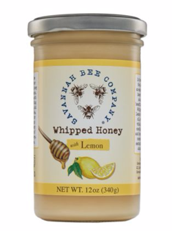 Savannah Bee Whipped Honey Lemon