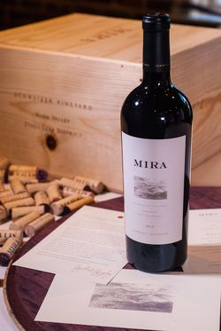 Mira Winery Vineyard Cabernet