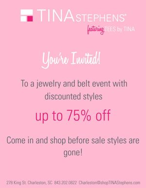 TINA Stephens Sale